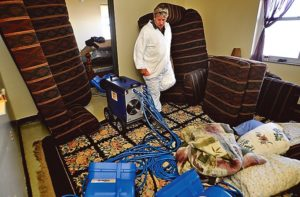Heat Treatment for pest control